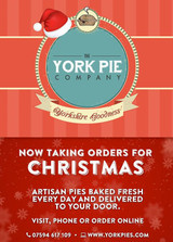 Order Your Christmas Pies in York Today