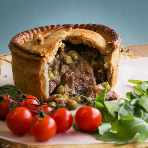 Large Lamb And Pea Pie Cooked In A Local Ale (Approx 1lb)