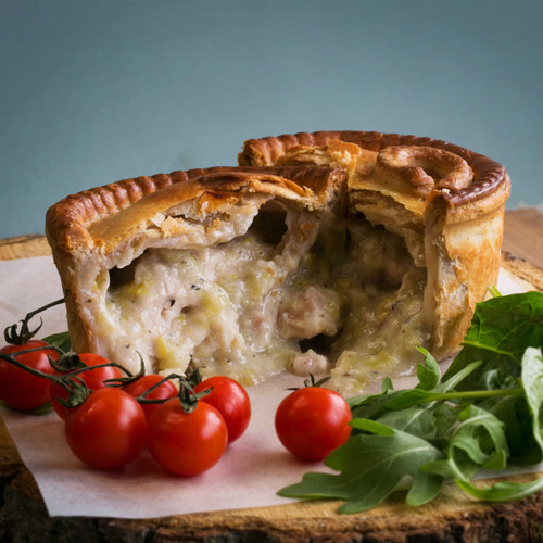 Coq-A-Vin Chicken & Leek Pie (Approx 1lb)