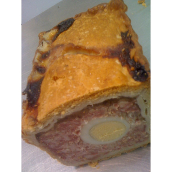 Gala Pie with Egg