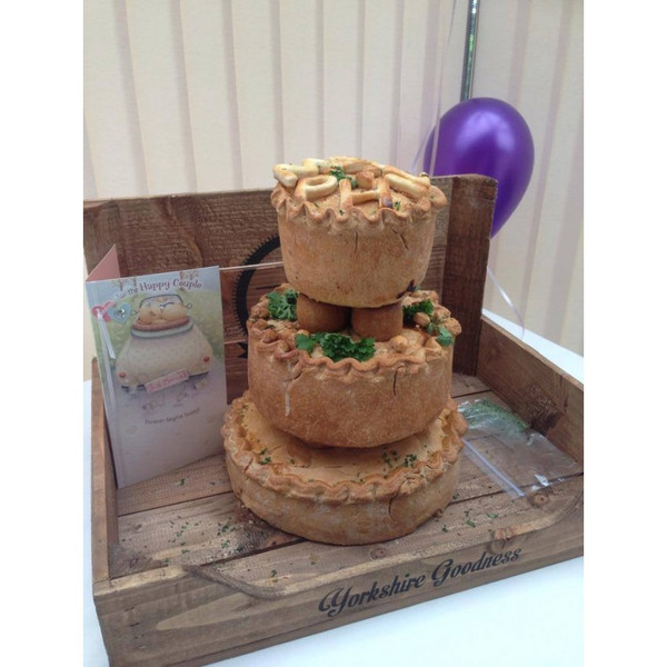 Wedding Pork Pie Bespoke (From £200)