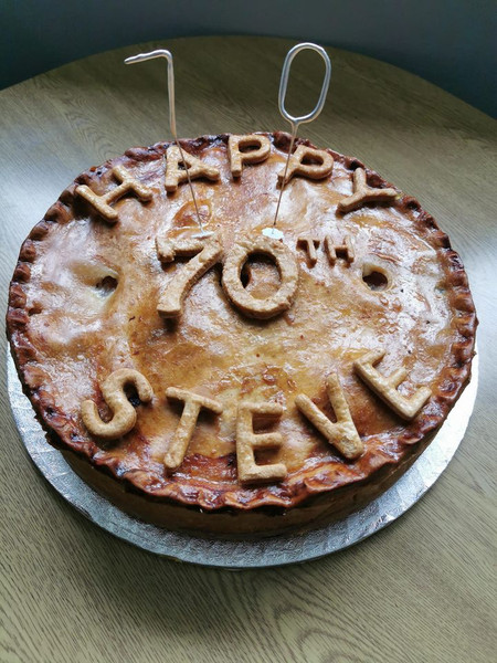20 Cm Celebration Pork Pie
