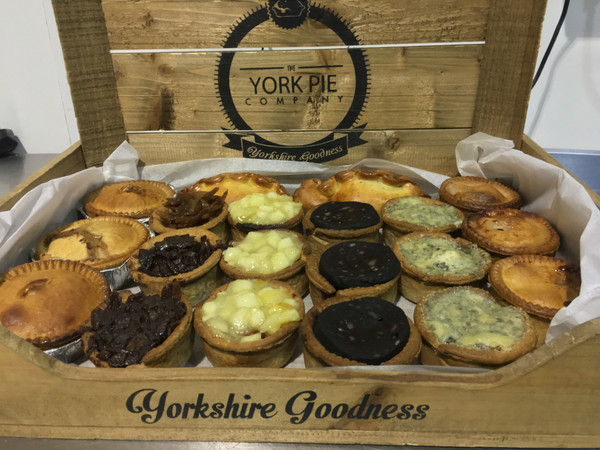 Weekly Pork (York) Pie Box Delivery Included
