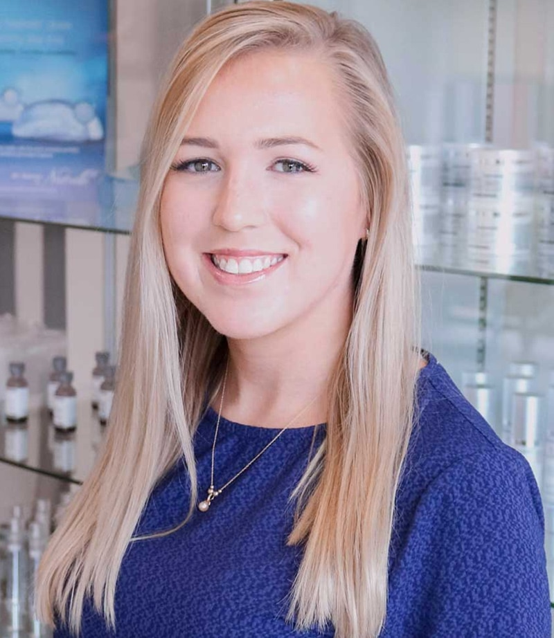 Whitney, our Lead Aesthetician