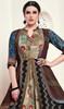 Multicolor Shaded Silk Tunic