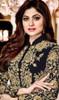 Shamita Shetty Black Color Embroidered Georgette Suit