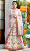 Pink Color Shaded Embroidered Lahenga Choli