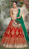 Maroon Color Embroidered Net Lahenga Choli