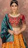 Yellow Color Embroidered Silk Lehenga Choli