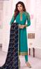 Shamita Shetty Sky Blue Color Georgette Churidar Dress