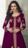 Lehenga Choli in Magenta Color Shaded Georgette