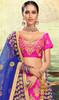 Lehenga Choli, Silk Fabric in Pink Color Shaded