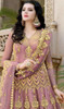 Pink Color, Embroidered Net Anarkali Suit