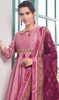 Pink Color Maslin Embroidered Anarkali Suit