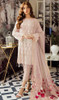 Embroidered Georgette Peach Color Suit