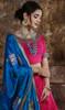 Lehenga Choli Silk Fabric in Pink Color Shaded