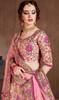 Pink Color, Embroidered Silk Lehenga Choli
