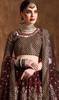 Lehenga Choli in Maroon Color Embroidered Raw Silk