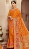 Mustard Color Shaded Silk Saree