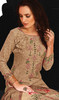 Cotton Beige Color Shaded Pant Style Suit