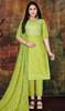 Modal Light Green Color Pant Style Dress