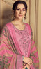 Baby Pink Color Jam Cotton Embroidered Patiala Suit in