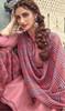 Cotton Printed Baby Pink Color Punjabi Suit