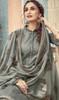 Cotton Printed Gray Color Punjabi Dress