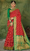 Silk Red Color Weaving Sari