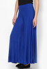 Blue Palazzo Pants Lycra Stretchable
