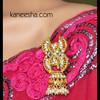 Gold Plated Sari Pin