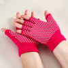 Yoga Gloves 2 PAIR Fingerless Gloves Non-Slip Gloves for Pilates with Texturizing Beads by Kaneesha - FREE SHIPPING