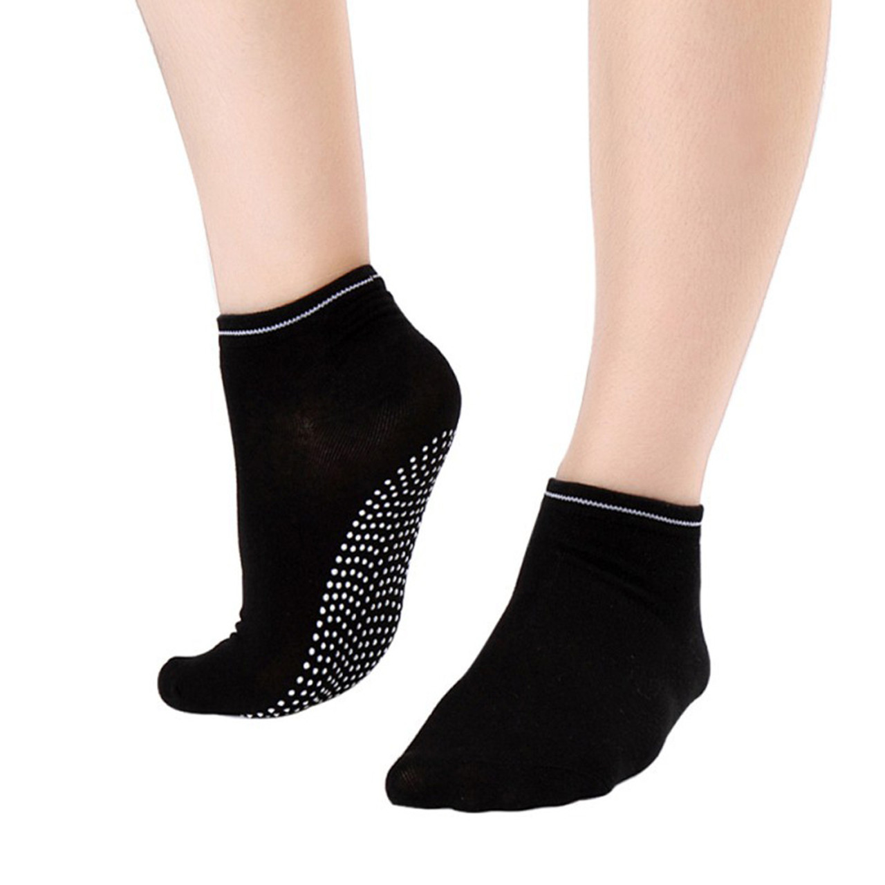 51c9ea5e73884 Yoga Socks 2 PAIR Pilate Socks Non Slip Sticky Socks with Grip Ideal for  Dance, Fitness No Slip, Non Skid Socks FREE Shipping. - www.kaneesha.com