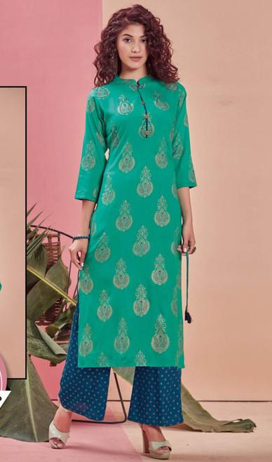 Rama Color Shaded Rayon Tunic
