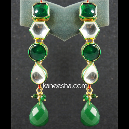 Traditional Kundan Earrings - 25% price reduction