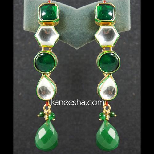 Traditional Kundan Earrings - 25% price reduction