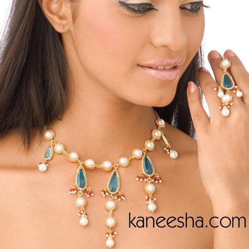 Pearl Necklace Earrings - 45% price reduction