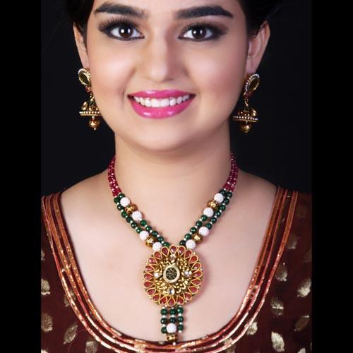 Beauteous Multi Necklace Set