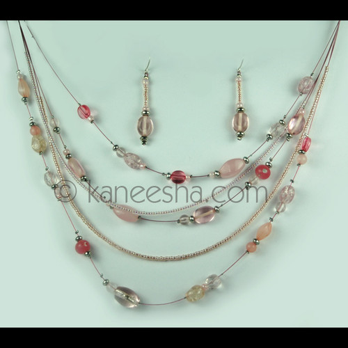 Multi Strand Illusion Necklace