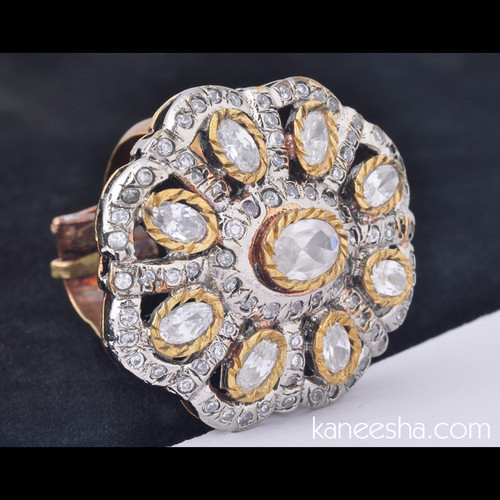 Cubic Zircon Fashion Ring