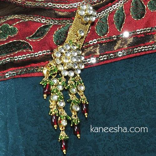 Goldplated Saree Pin (Dress Pin)
