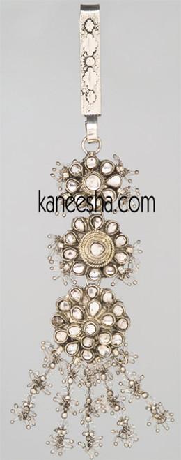Rhodium Polished Decorative Keychain