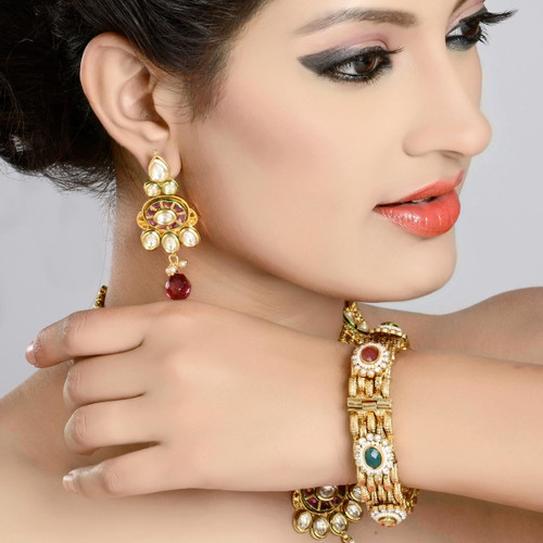 Trendy Gold Plated Bangles