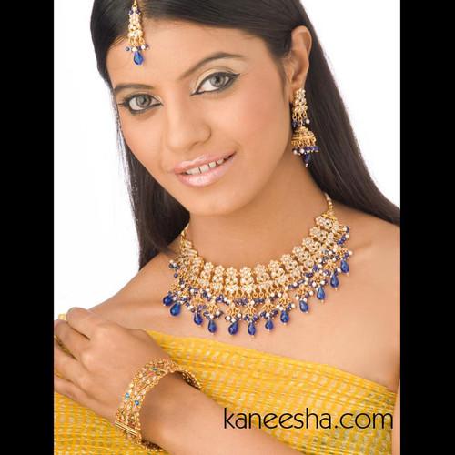 Multi Color Goldplated Bangle Bracelet