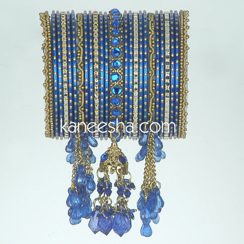 Royal Blue Fashion Bangles
