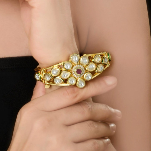 Gold Plated Diamond Bracelet