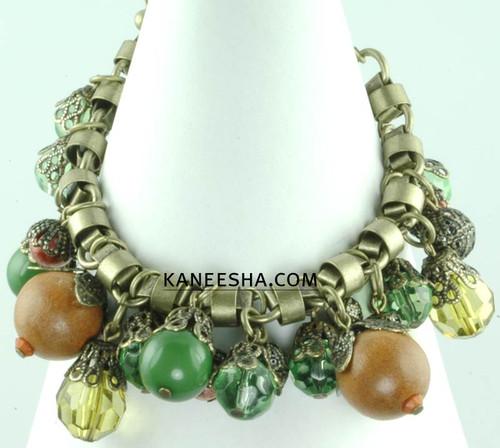 Brass Link Chain Bracelet