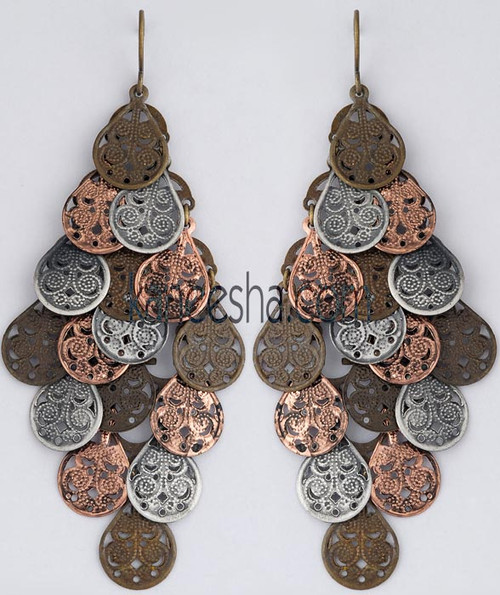 Unique Fusion Fashion Earrings