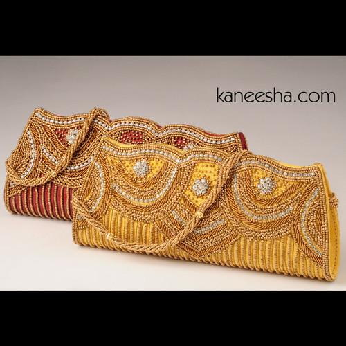 Unique Indian Silk Embroidered Purse