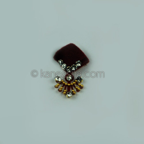 Traditional Bridal Deep Red Bindi